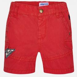 MAYORAL chlapčenské krátke nohavice 1294-083 cherry
