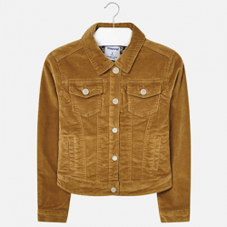 MAYORAL dievčenský kabát 7466-011 mustard