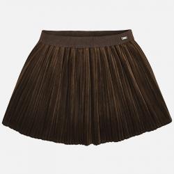 Dievčenská sukňa skladaná MAYORAL  4920-080mocha