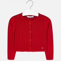 Dievčenský sveter MAYORAL 4326-040 red