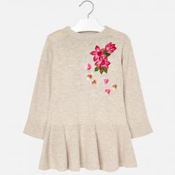 Dievčenské šaty pletené MAYORAL 4942-086
