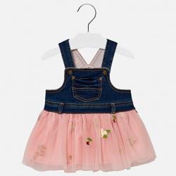 Šaty s tylovou sukňou  MAYORAL 2906-033 petal