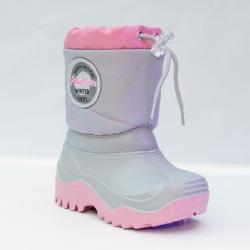 Detská zimná obuv - snehule MUFLON 32-468 ružové