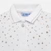 MAYORAL dievčenské tričko 1108-040 white