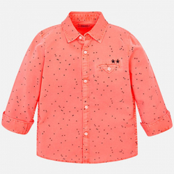 MAYORAL chlapčenská košeľa 3143-087 neon fluor