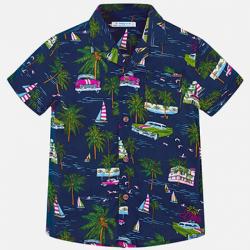 MAYORAL chlapčenská košeľa 3132-004 blue