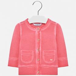 MAYORAL dievčenský bavlnený sveter 1413-015 geranio