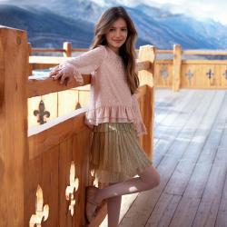 MAYORAL  dievčenská  sukňa 7902-082 Golden