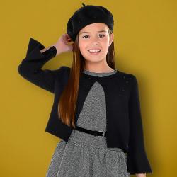 MAYORAL dievčenský sveter 7326-043 Black