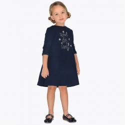 MAYORAL dievčenské šaty tunika 4964-053 navy