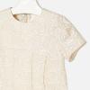 MAYORAL dievčenské šaty 4944-059 Champagne