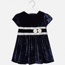 MAYORAL dievčenské šaty 4938-025 navy