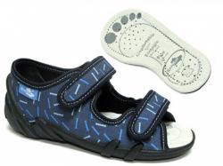 Chlapčenské papučky  sandálky RENBUT 23-378 paličky