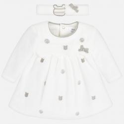 Dievčenské šaty MAYORAL 2800-035 Natural