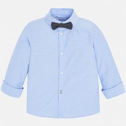 Chlapčenská košeľa s motýlikom MAYORAL 3139-064 light blue