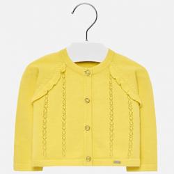 Dievčenský sveter pletený MAYORAL 1309-066 citrus