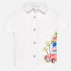 MAYORAL chlapčenská košeľa 1128-064 White