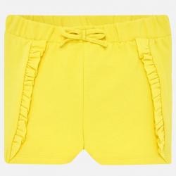 MAYORAL dievčenské krátke nohavice 1229-091 Yellow
