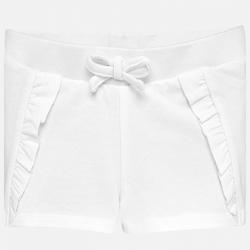 MAYORAL dievčenské krátke nohavice 1229-093 white