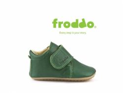 FRODDO kožené capačky prewalkers 1130005-7 green