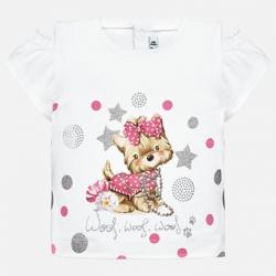 MAYORAL dievčenské tričko 1007-055 rosa