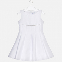 MAYORAL  dievčenské letné  šaty 6926-095 white