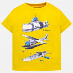 Chlapčenské tričko bavlnené MAYORAL 1029--011 banana