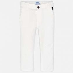 MAYORAL chlapčenské nohavice 512-042 white