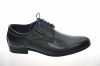 Chlapčenská čierne elegantná obuv 711 black