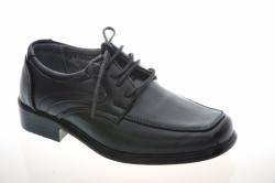 Chlapčenská čierne elegantná obuv 1300-1 black