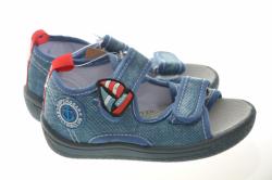 Chlapčenské papučky sandálky 1430 light blue