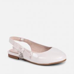 MAYORAL dievčenské balerínky 43033+45033-096 off white
