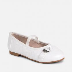 MAYORAL biele balerínky dievčenské 43025-45025-075 white