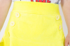 Dievčenská bavlnená sukňa NEON MM 591 neon yellow