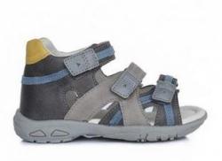 D.D.STEP  letné sandále AC290-7040BM grey