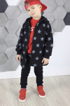 Bavlnená chlapčenská mikina MM 932 star