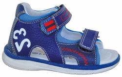 Chlapčenské kožené sandále PROTETIKA IRVIN NAVY