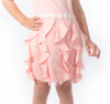 Elegantné dievčenské šaty ružové MM 589 pink