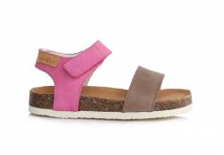 D.D.STEP korkové sandále AC051-4AL dark pink
