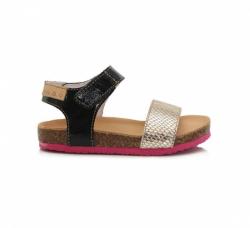 D.D.STEP korkové sandále AC051-4BL cream