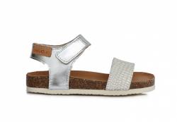 D.D.STEP korkové sandále AC051-4M white