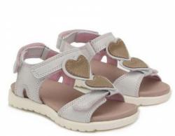 Letné dievčenské sandále D.D.STEP AC055-2AM white