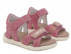 Letné dievčenské sandále D.D.STEP AC055-3L dark pink