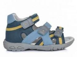 D.D.STEP  letné sandále AC290-7040 sky blue