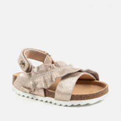 MAYORAL kožené korkové sandále 41042+43042-023