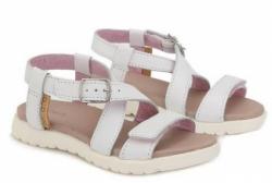 Letné dievčenské sandále D.D.STEP AC055-1BM white