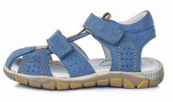 DD STEP celokožené letné sandále K330-4009M royal blue