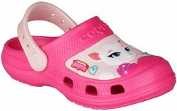 COQUI detské crocsy MAXI 9382 fuxia/candy pink