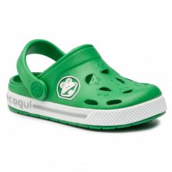Detské crocsy COQUI FROGGY 8801 green/white