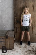Dievčenské krátke nohavice